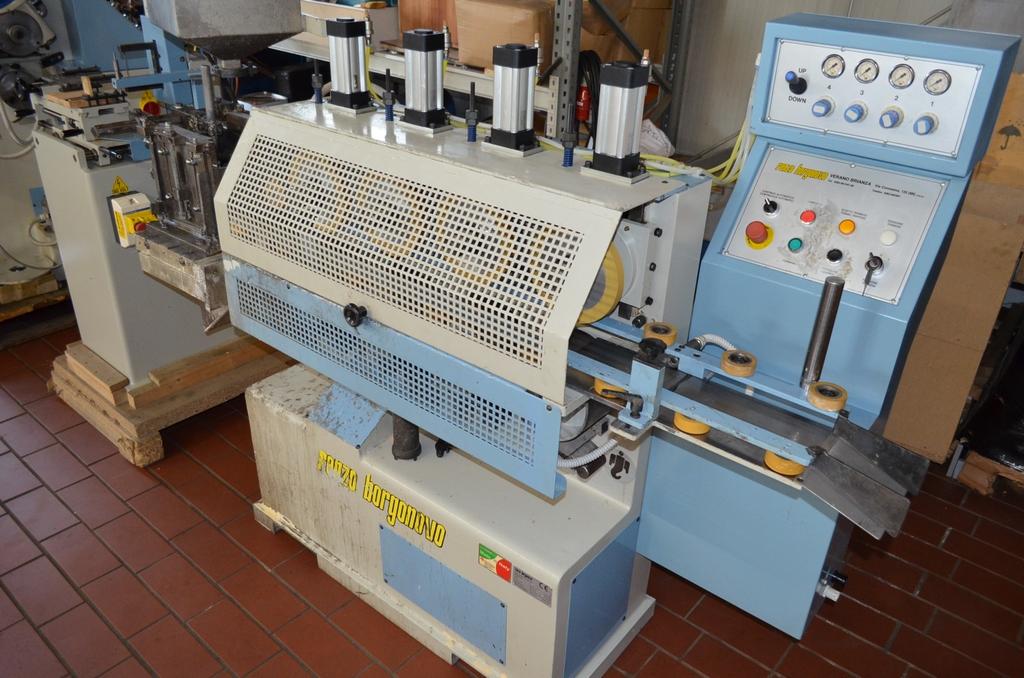 Grundierung Maschine für Leisten Renzo Borgonovo, Typ: VGS 97, Bj ...